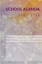 schoolagenda (17cm x 24cm) 2017 - 2018